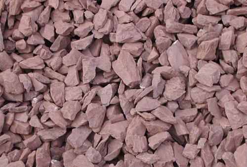 Kingston supply products for Red stone landscape rock